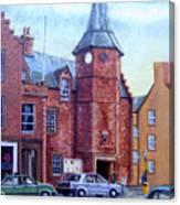 Dunbar High Street Canvas Print