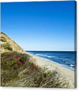 Dune Cliffs And Beach Canvas Print