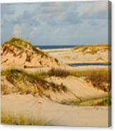Dunes At Gulf Shore Canvas Print