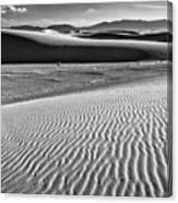 Dunes Details Canvas Print