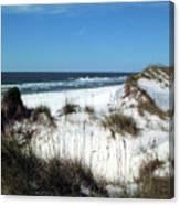 Dunes On St. Joseph Canvas Print