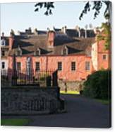 Dunfermline. Abbot House. Canvas Print