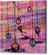 Dunking Ornaments Canvas Print