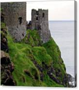 Dunluce Castle II Canvas Print