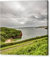Dunmore East Cliffs Canvas Print