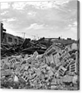 Dunn Street Demolition 2 Canvas Print