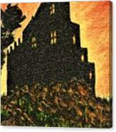 Duntrune Castle Argyll Scotland Canvas Print