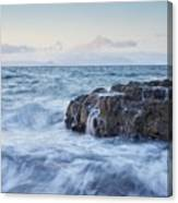 Dunure Beach Canvas Print