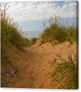 Nova Scotia's Cabot Trail Dunvegan Beach Dunes Canvas Print