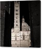 Duomo Di Siena Canvas Print