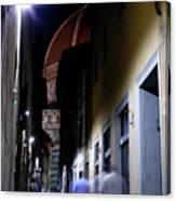 Duomo In The Dark Canvas Print