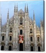 Duomo - Milan -italy Canvas Print