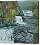 Dupont State Forest Triple Falls Canvas Print