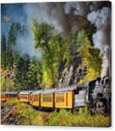 Durango-silverton Narrow Gauge Railroad Canvas Print