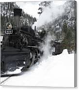 Durango Silverton Railway Canvas Print