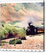 Durango-silverton Train Canvas Print