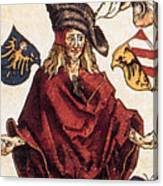 Durers Syphilitic Man Canvas Print