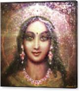 Vision Of The Goddess - Durga Or Shakti Canvas Print
