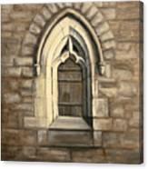 Durham Window Canvas Print