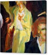 During Intermission Canvas Print