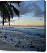Dusk Beach Canvas Print