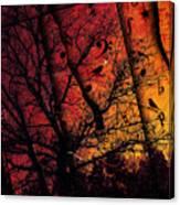 Dusk Song Canvas Print