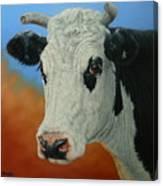 Dust Storm-portrait Of Pet Canvas Print