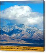 Dusting Of Snow, Dos Cabezas Canvas Print