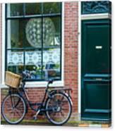 Dutch House Facade Canvas Print