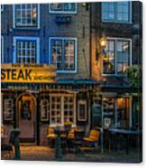 Dutch Steak Canvas Print