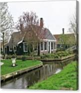 Dutch Village 2 Canvas Print