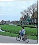 Dutch Village Canvas Print