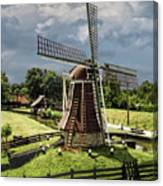Dutch Windmill Near The Zuider Zee Canvas Print