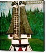 Dutch Windmill Canvas Print