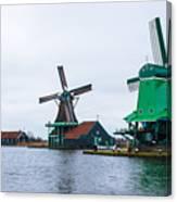 Dutch Windmills 1 Canvas Print