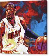 Dwyane Wade 2 Canvas Print