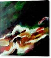 Dying Swan-abstract Canvas Print