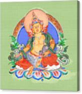 Dzambala The Buddha Of Wealth Canvas Print