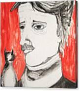 E. A. Poe Canvas Print