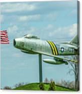 Eaa F-86 Sabre Canvas Print