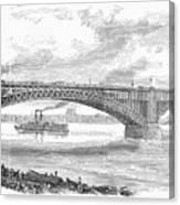Eads Bridge, St Louis Canvas Print