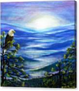 Eagle Blue Ridge Mountain Sunrise Canvas Print