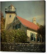 Eagle Bluff Lighthouse Canvas Print