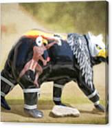 Eagle Dancer Bear Canvas Print