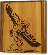 Eagle Dancer Canvas Print