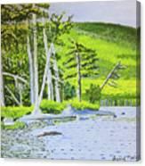 Eagle Lake, Acadia, Maine Canvas Print