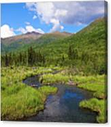 Eagle River- Alaska Canvas Print