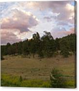 Eagle Rock Estes Park Colorado Canvas Print
