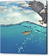 Eaglenfish Canvas Print