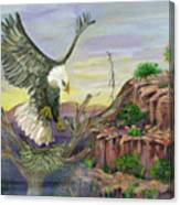 Eagles Nest Canvas Print